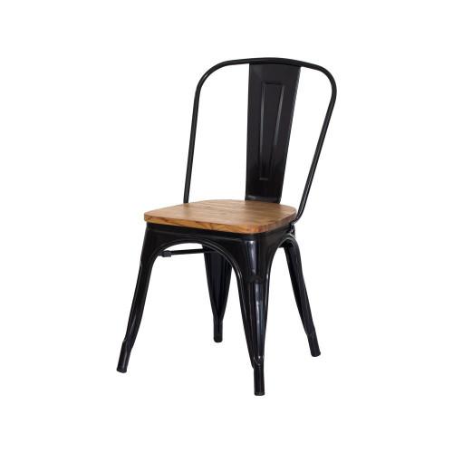 Cadeira Iron Tolix Madeira