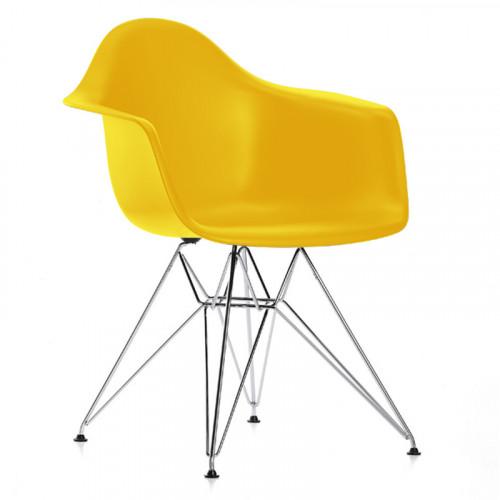 Cadeira Eames Eiffel com braço
