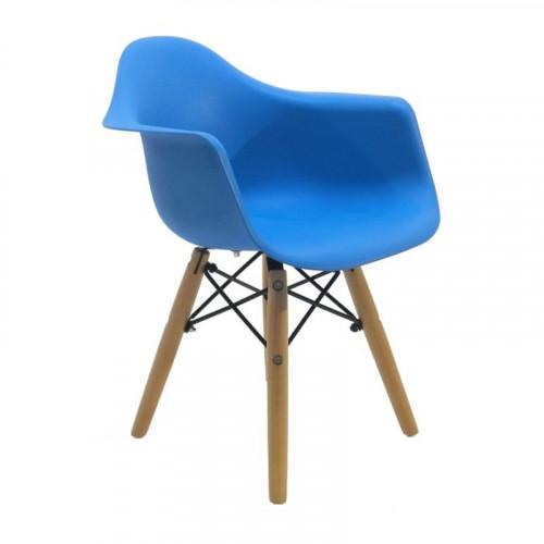 Cadeira Eames Infantil Madeira com Braço