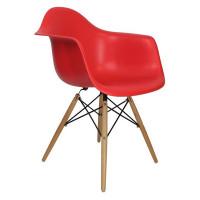 Cadeira Eames Madeira com braço