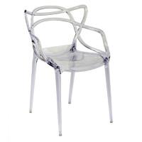 Cadeira Masters Allegra Transparente