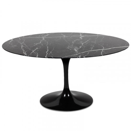 Mesa Saarinen Oval Nero